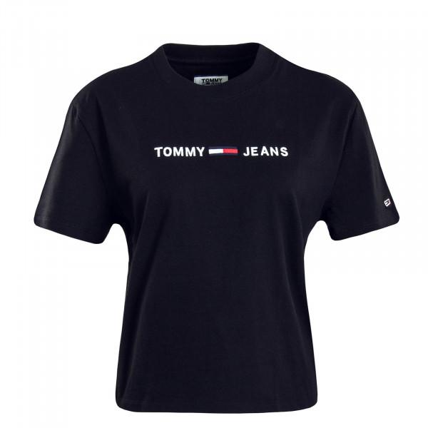 Damen T-Shirt 7429 Clean Linear Black