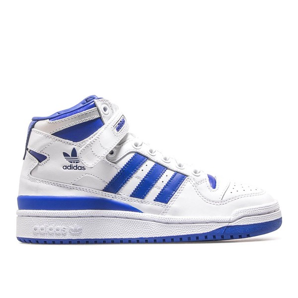 Adidas Wmn Forum Mid J White Royal