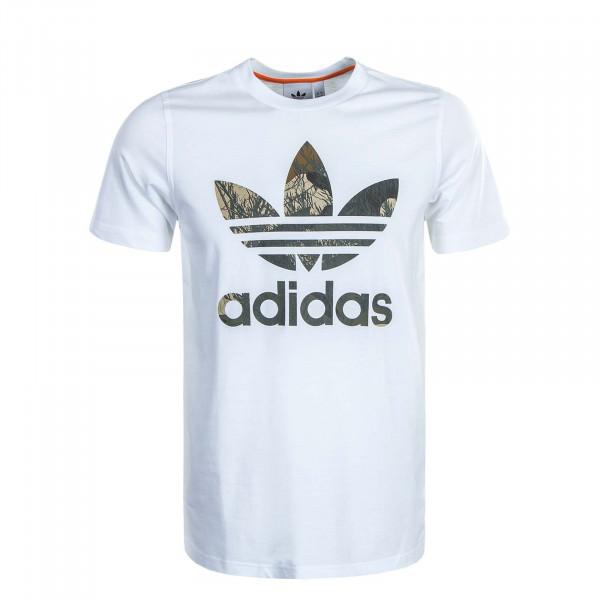 Herren T-Shirt Camouflage TRF White