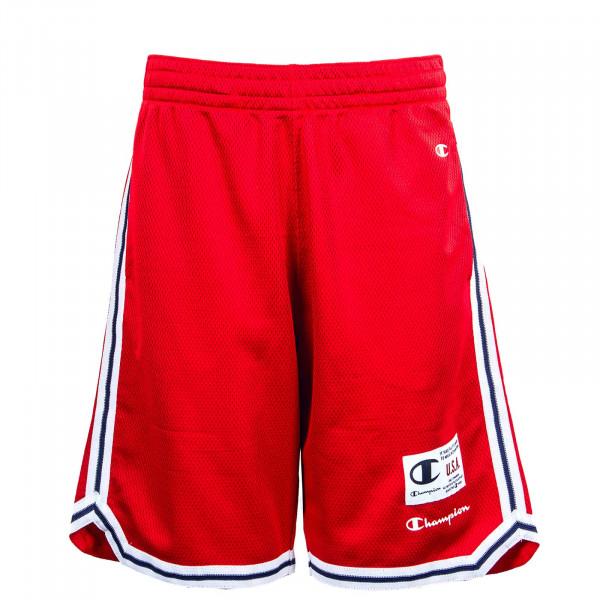 Herren Short - Bermuda 215927 - Red
