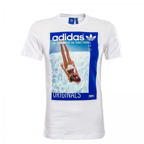 Adidas TS Girl White Blue