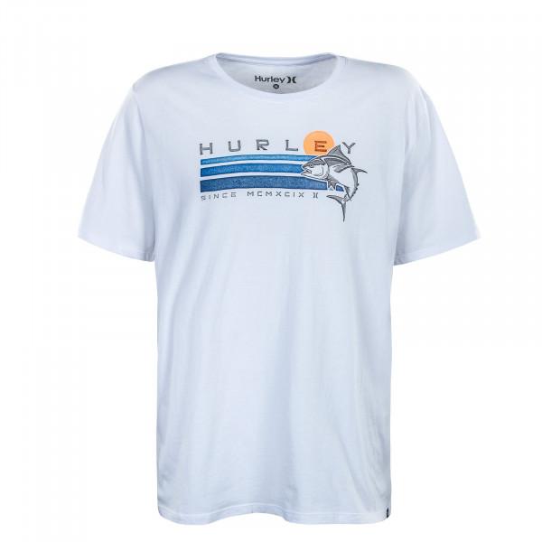 Herren T-Shirt - Ahi - White