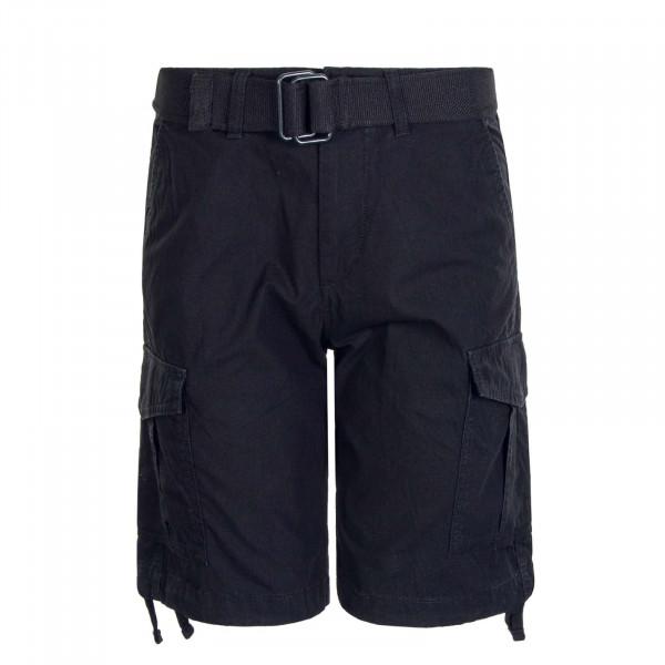 Herren Cargo Shorts Charlie AKM 803 Black