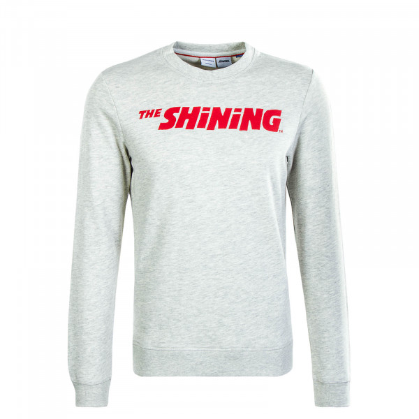 Herren Sweatshirt The Shining Light Grey