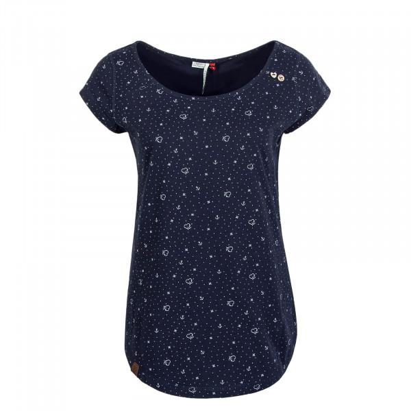Damen T-Shirt Rosanna Navy