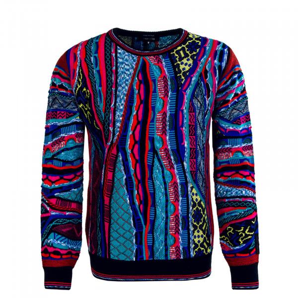 Herren Sweatshirt C9803 101 Blue Red Black