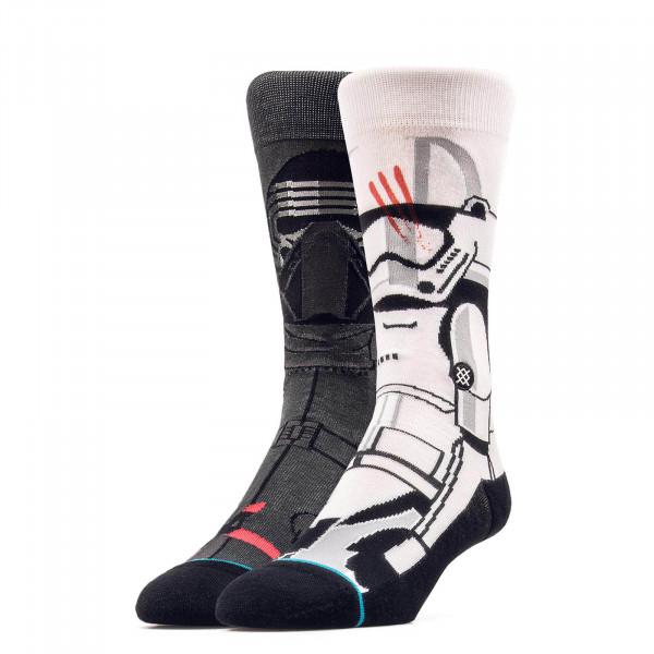 Stance Socks Starwars Disturbance GreyWh