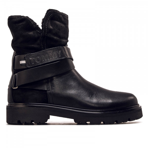 Damen Boot Reflective Detail Black