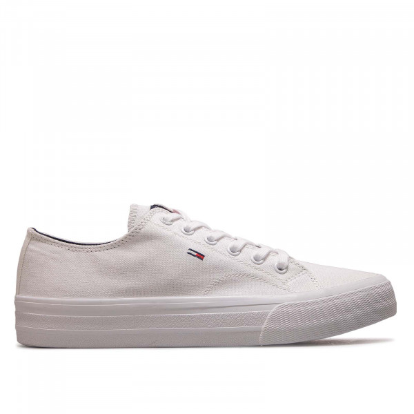 Herren Sneaker Long Lace UP Vulc White