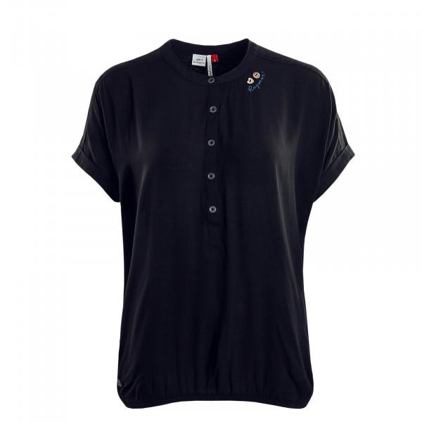 Damen T-Shirt Ricota Black