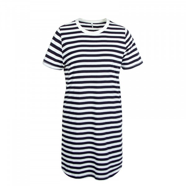 Kleid June Life S/S Night Sky Stripes