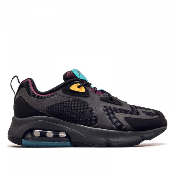 Herren Sneaker Air Max 200 Black Anthrazit