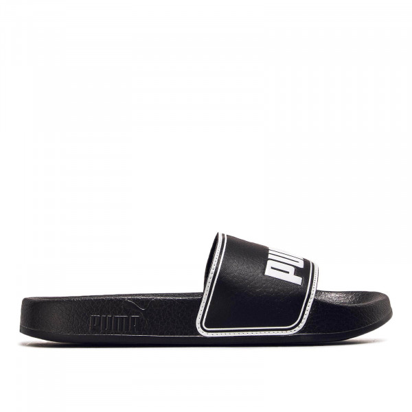 Herren Slide Leadcat Black White
