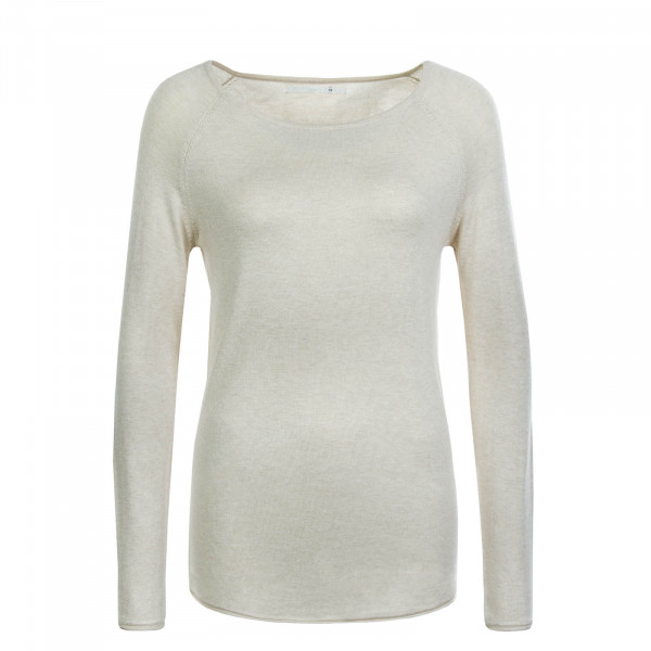 Damen Pullover Mila Lacy Light Beige
