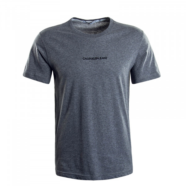 Herren T-Shirt 5186  Instit Chest Logo Grey
