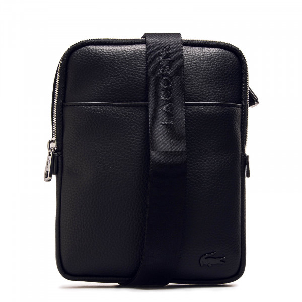Lacoste Bag S Flat Crossover Black