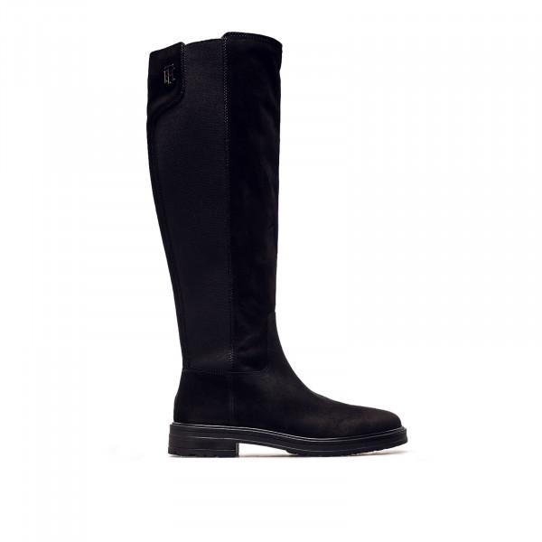 Damen Stiefel - Stud Longboot - Black
