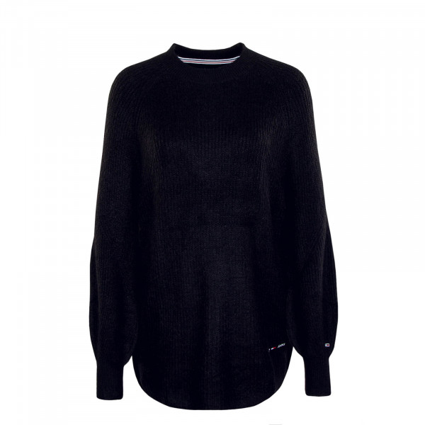 Damen Sweatshirt Knit Lofty Yarn 9137 Black