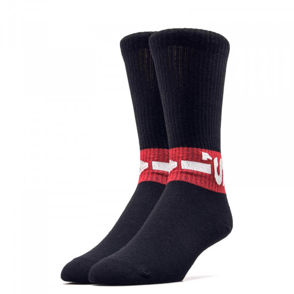 Socken 2er-Pack 168SF Regular Black Red