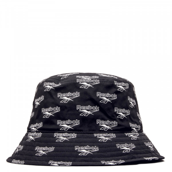 Hut Bucket Black White