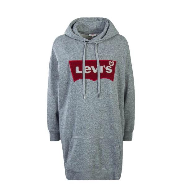 Levis Wmn Hoody Oversized 57564 Grey
