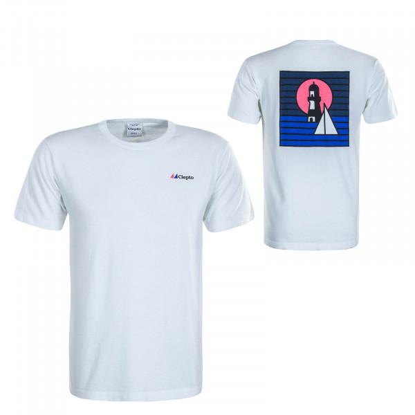 Herren T-Shirt Signal White
