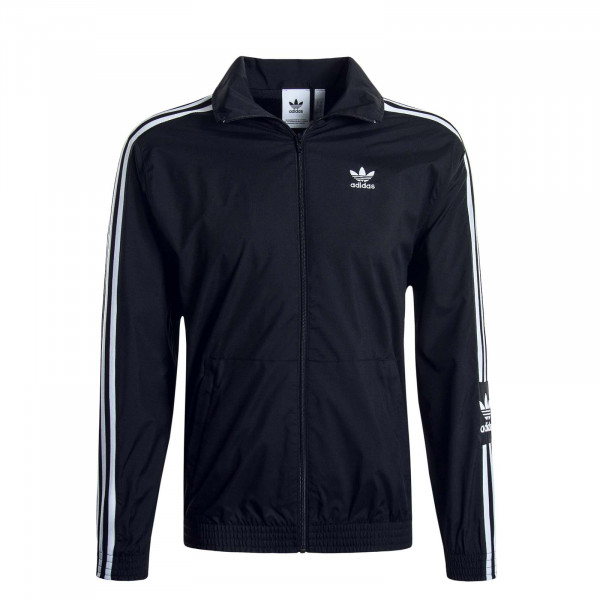 Herren Trainingsjacke Ripstop Black White