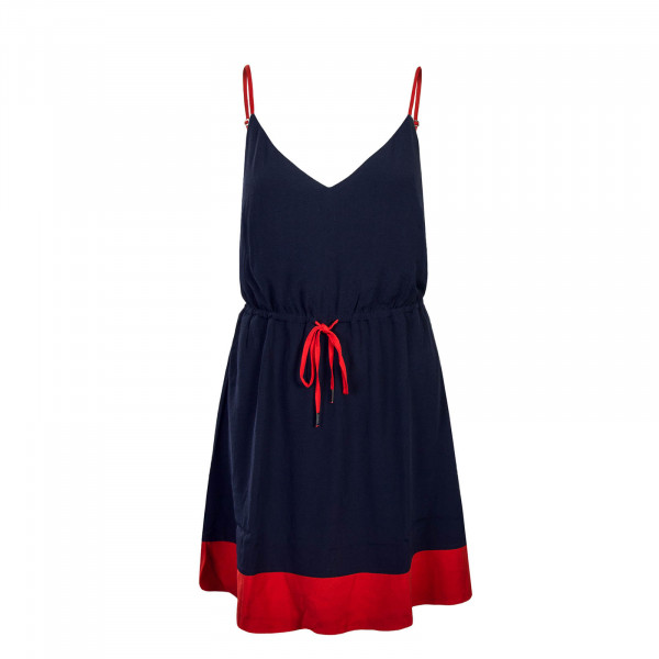 Tommy Dress TJW Essential Strap Navy Red