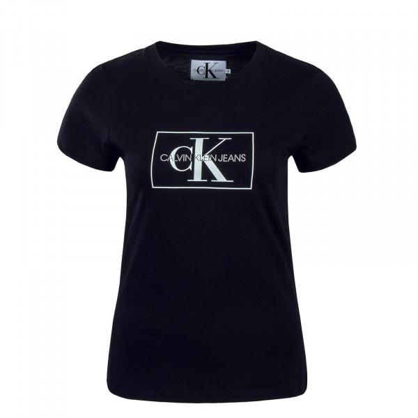 CK Wmn TS Outline Black White