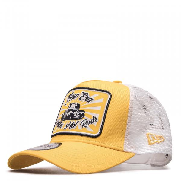 Cap Hotrod AF Trucker GRY Yellow