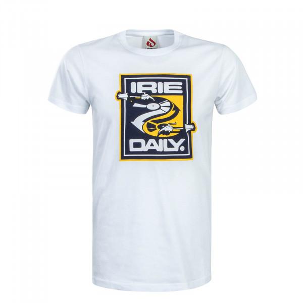 Herren T-Shirt Turnlism White Blue Yellow