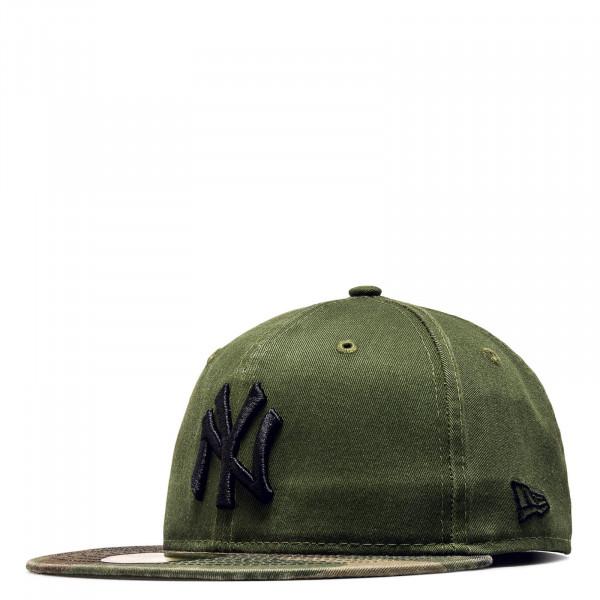 New Era Cap 59Fifty Fit NY Wash CamoGree