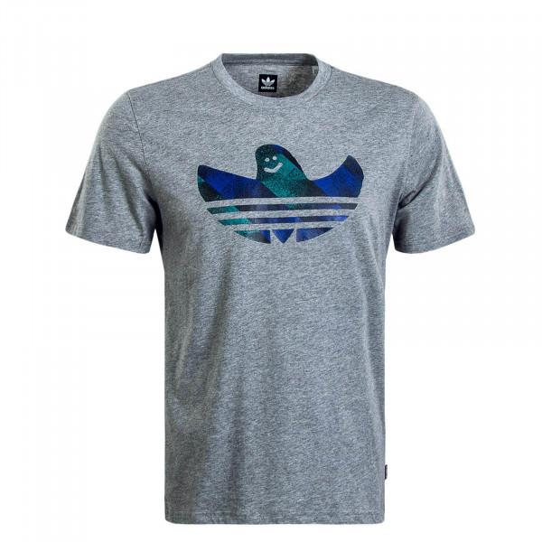 Herren T-Shirt Schampoo Fill Grey