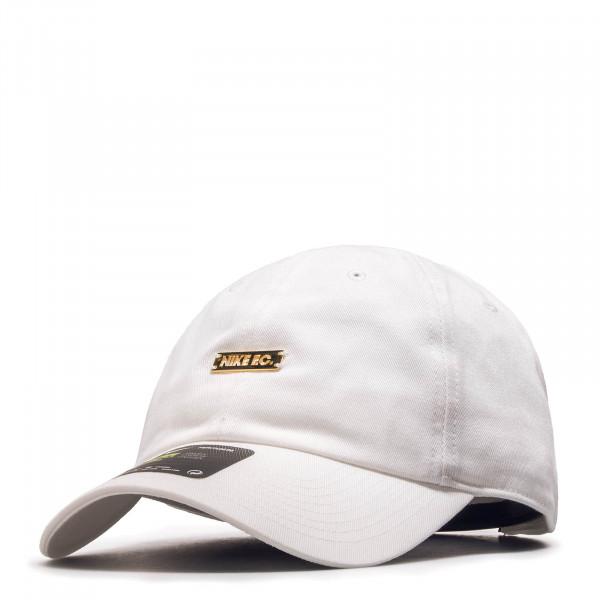 Nike U Cap F.C. H86 White Metallic Gold