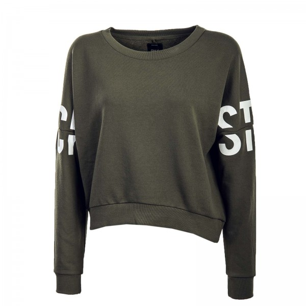 Only Sweat Crop Game Batwing Olive