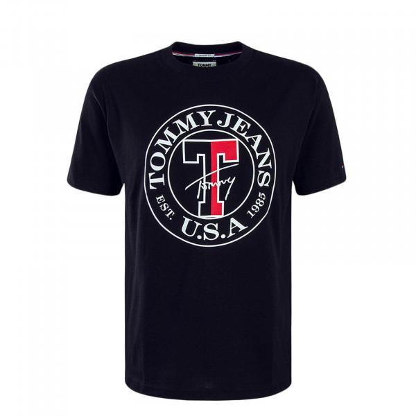 Herren T-Shirt TJM Circle Black