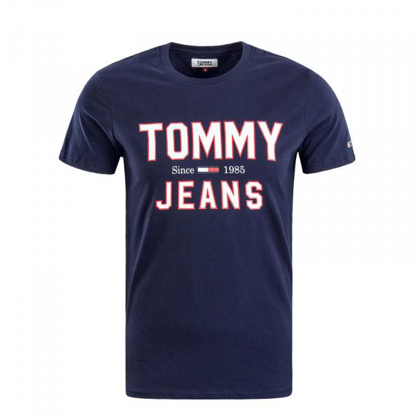 Herren T-Shirt 7067 Navy White Red