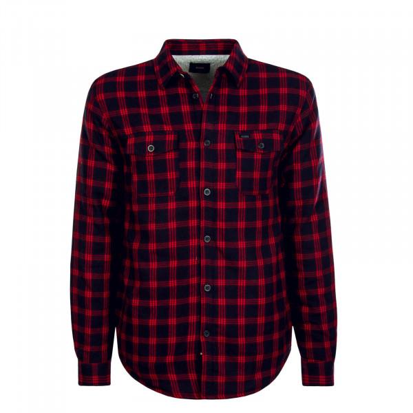 Herren Hemd Camdon II Red Black