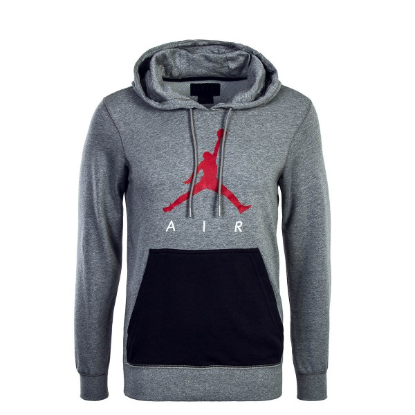 Nike Jordan Hoody Jumpman Grey Black