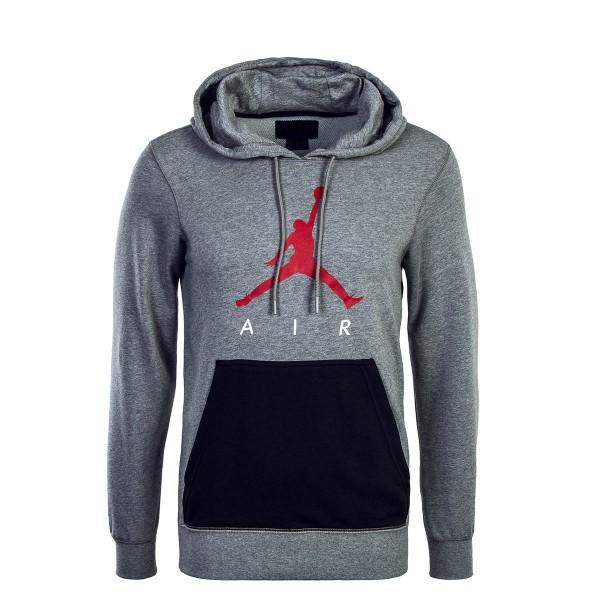 Nike Jordan Hoody Jumpman Grey Black