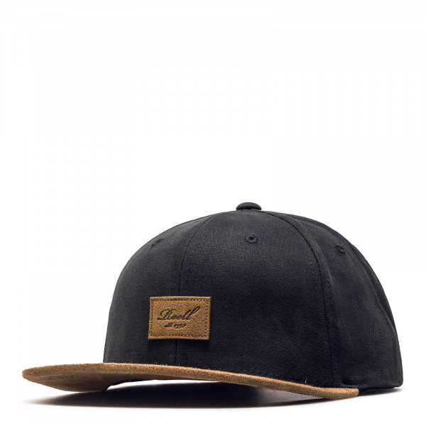 Reell Cap Suede Black Brown