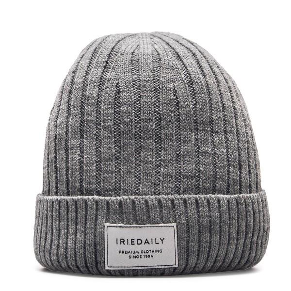 Iriedaily Beanie Heavy Rib Grey