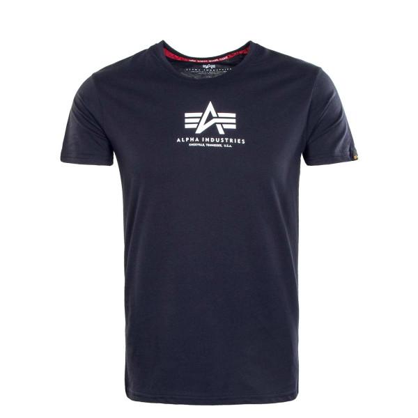 Herren T-Shirt - Basic ML - Rep Blue