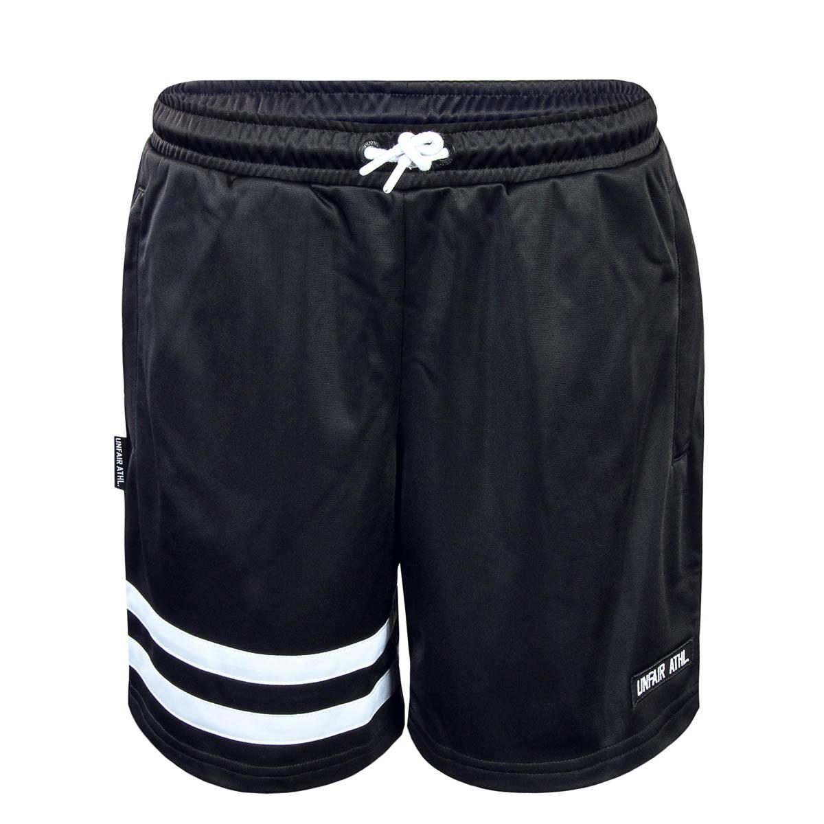 8107b9b0aa94cd kurze Herren Hose in schwarz von Unfair Athletic online kaufen ...