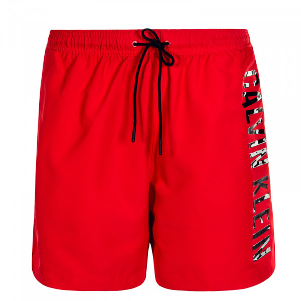 Herren Boardshort 0452 Red Black