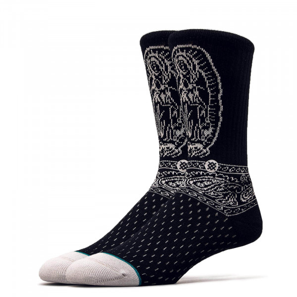 Stance Socks Team Barrio Black White