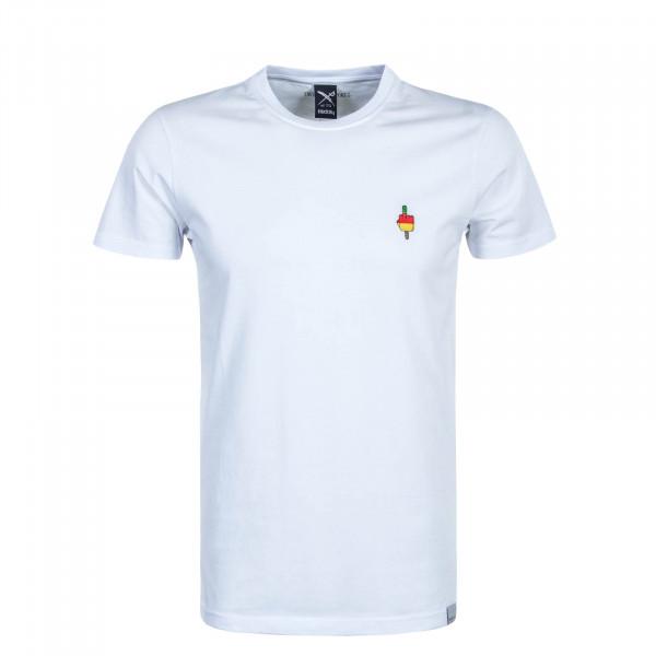 Herren T-Shirt Flutscher White