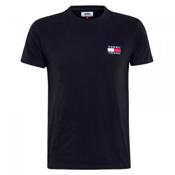 Herren T-Shirt TJM Badge Black