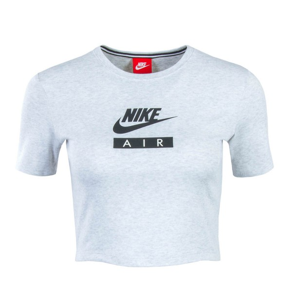 Nike Wmn Crop Top NSW Baby Air Lt Grey