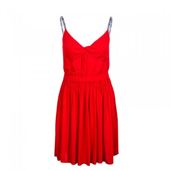 Damen Kleid - Essential Strap 9934 - Deep Crimson